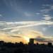 今日地震の夢見たのと、へんな雲みた